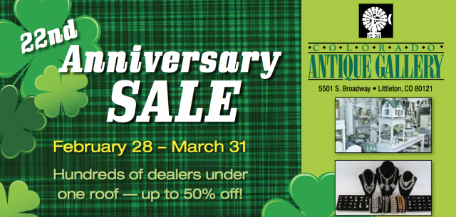 22ND ANNIVERSARY SALE