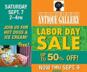 Labor Day Sale Continues Anitque Sale